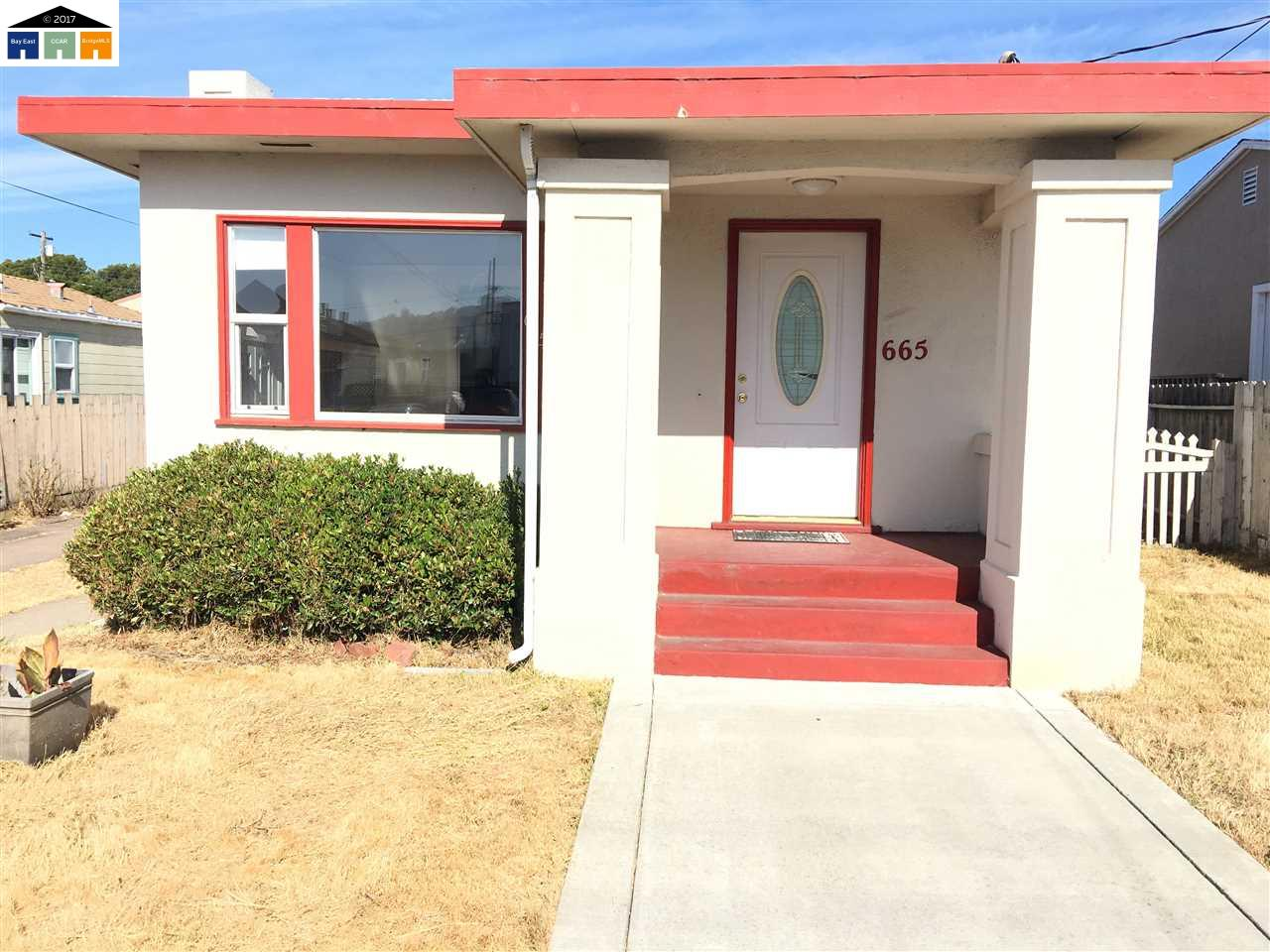 665 39TH STREET, RICHMOND, CA 94805