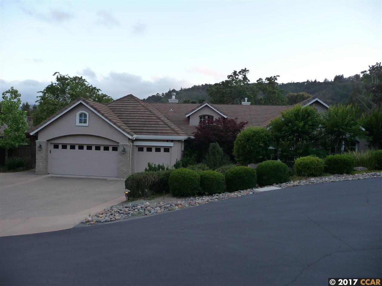 Частный односемейный дом для того Аренда на 60 Stonecastle Court Alamo, Калифорния 94507 Соединенные Штаты