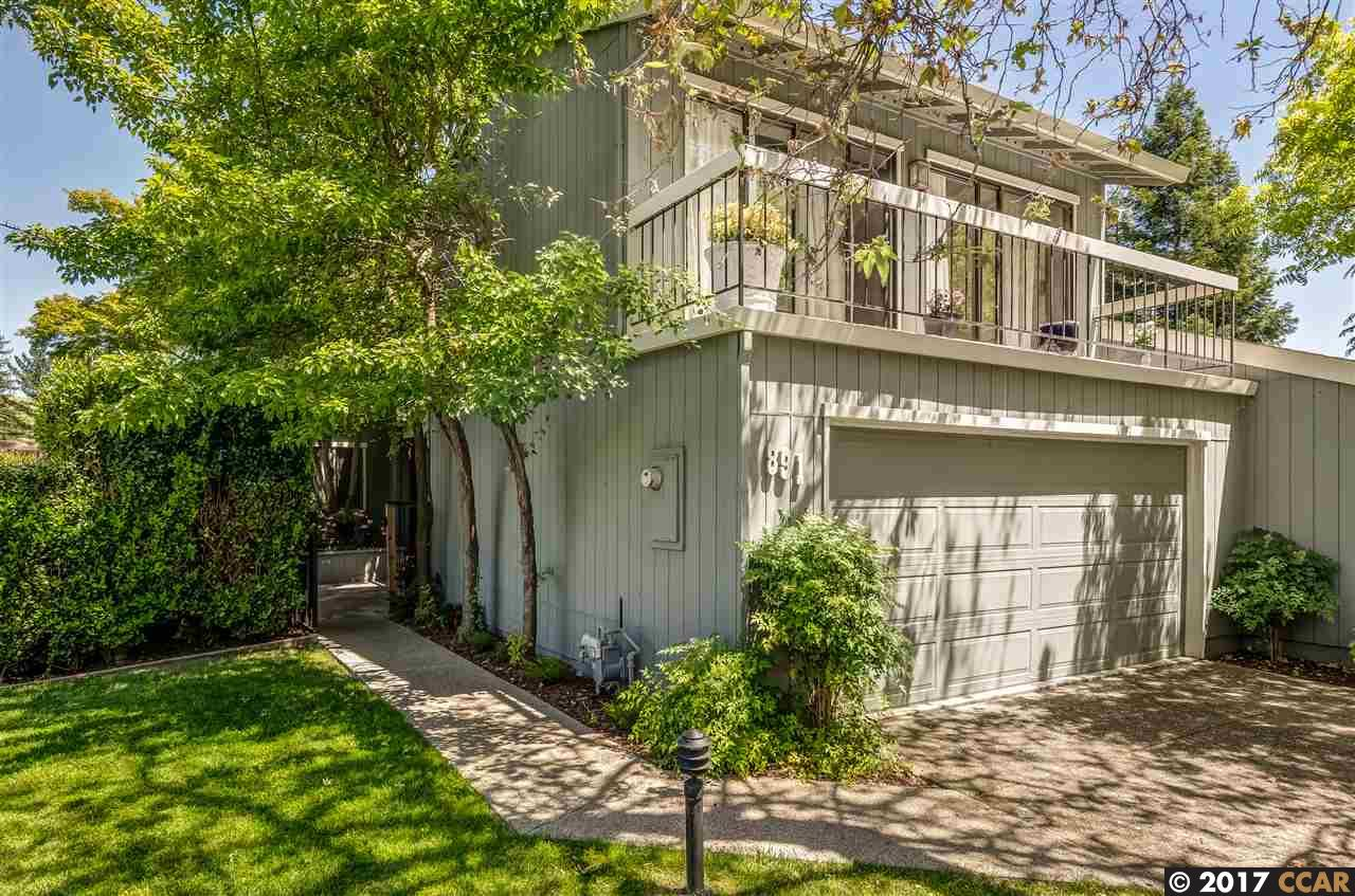Townhouse for Sale at 891 Augusta Drive Moraga, California 94556 United States
