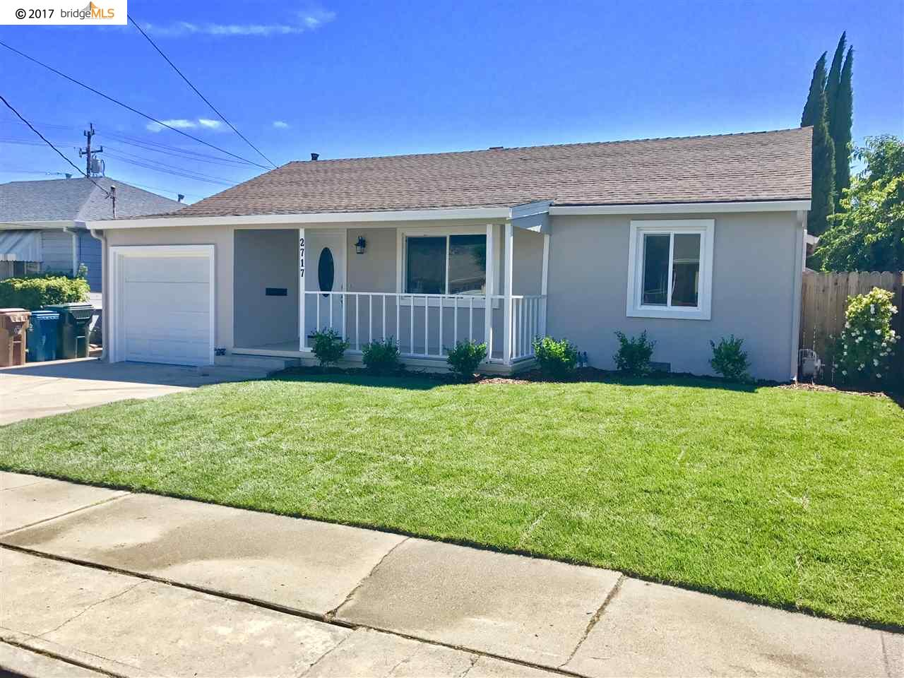 Single Family Home for Sale at 2717 El Rey Street Antioch, California 94509 United States