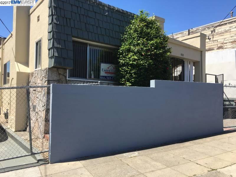 一戸建て のために 売買 アット 4515 CONGRESS Avenue Oakland, カリフォルニア 94601 アメリカ合衆国