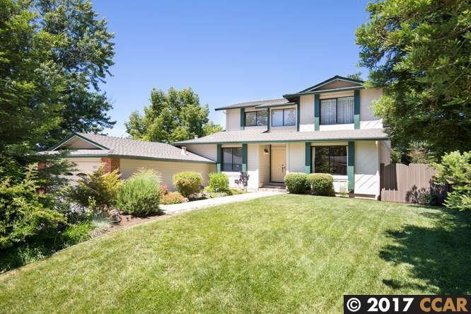 Maison unifamiliale pour l Vente à 1825 Yolanda Circle Clayton, Californie 94517 États-Unis