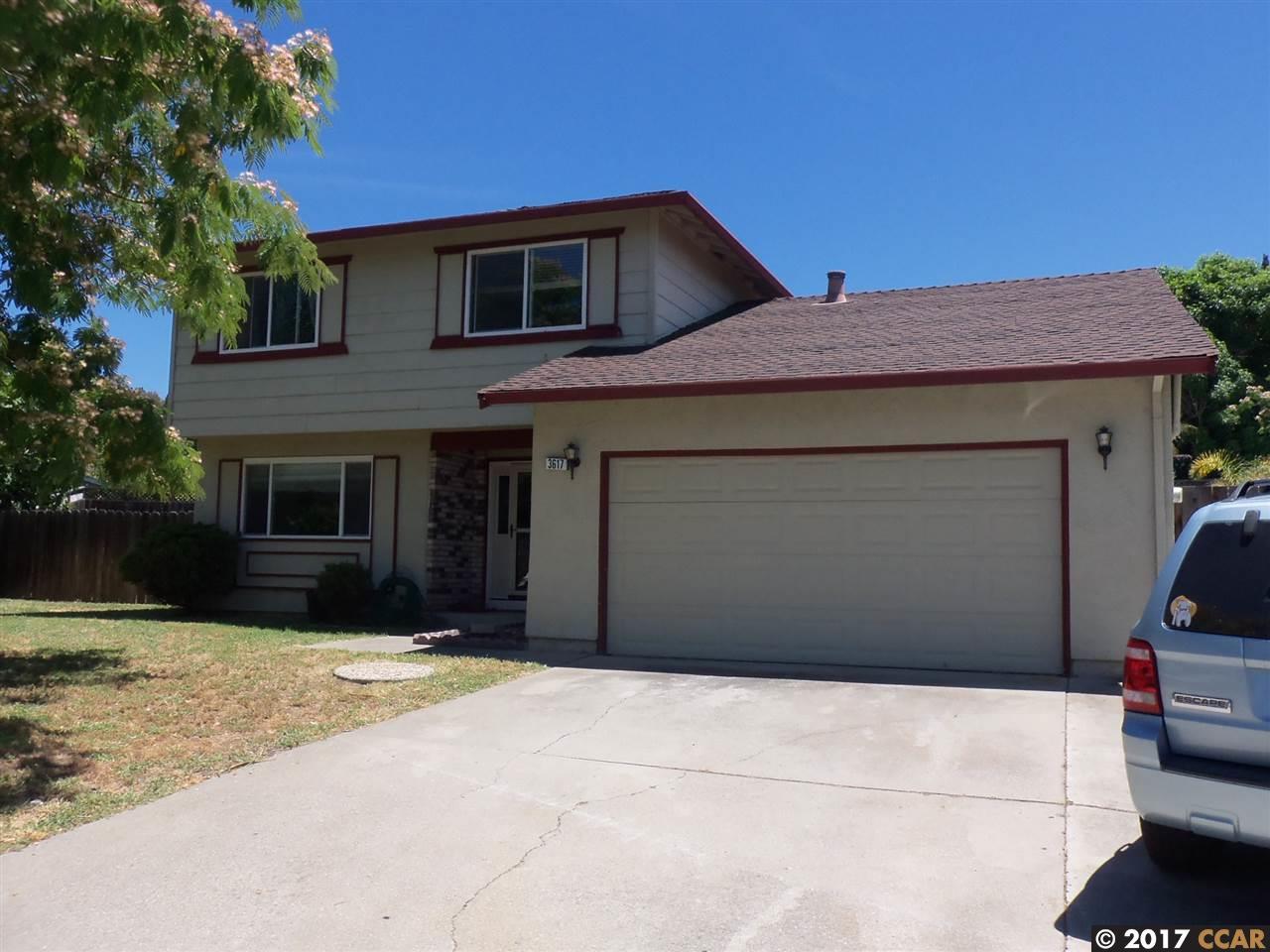 Casa Unifamiliar por un Venta en 3617 Dewitt Court Antioch, California 94509 Estados Unidos