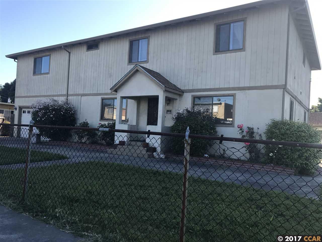 Casa Unifamiliar por un Venta en 2485 21st San Pablo, California 94806 Estados Unidos