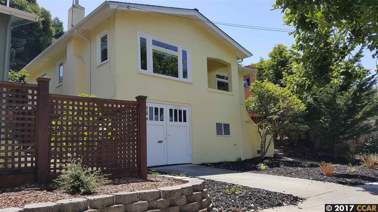 Single Family Home for Sale at 1560 Marin Avenue Albany, California 94706 United States