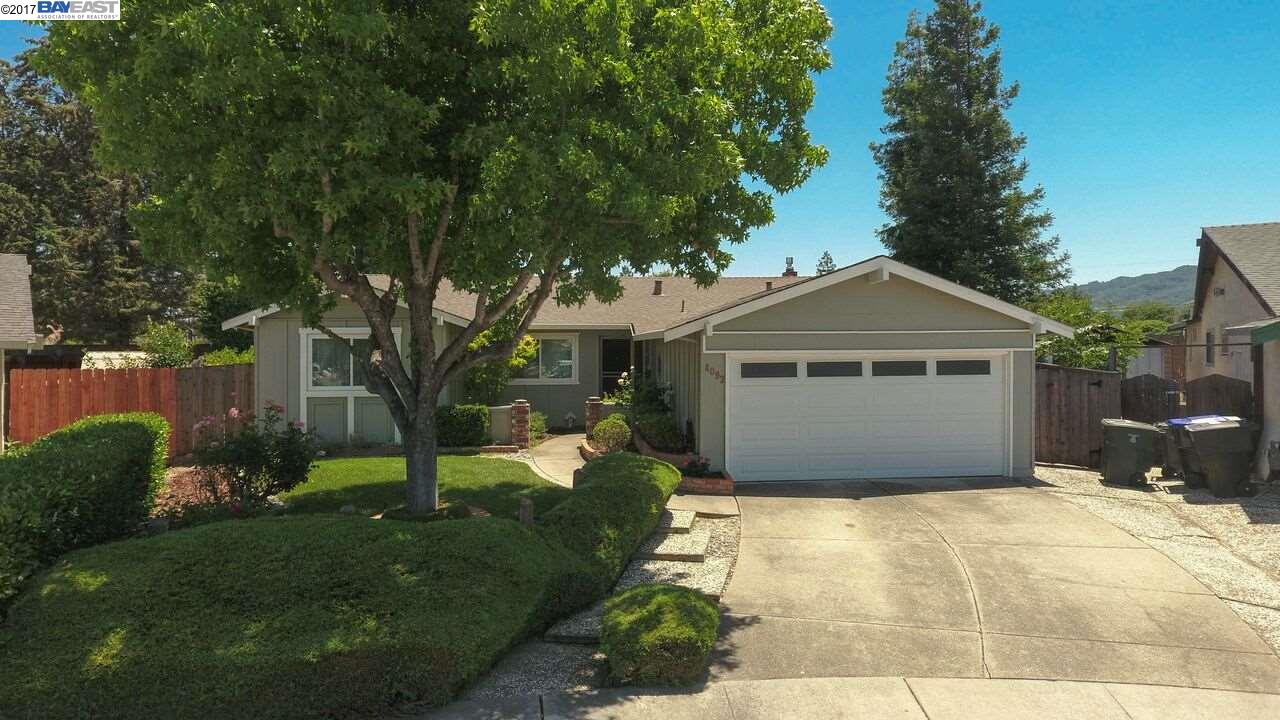 4092 BROOKS CT, PLEASANTON, CA 94588