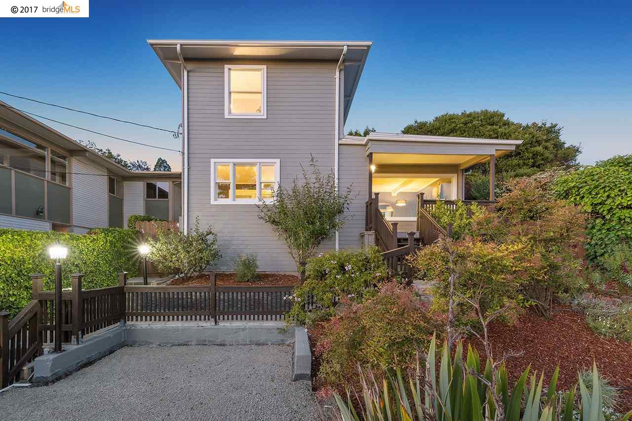 獨棟家庭住宅 為 出售 在 261 Trinity Avenue Kensington, 加利福尼亞州 94708 美國