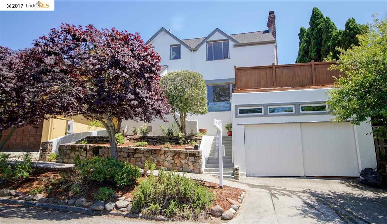 Single Family Home for Sale at 10 Florida Avenue Berkeley, California 94707 United States