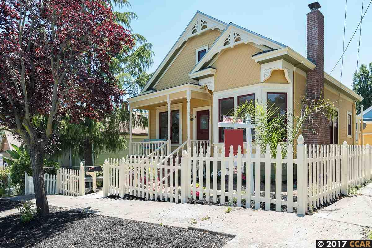 Single Family Home for Sale at 1435 Flora Street Crockett, California 94525 United States
