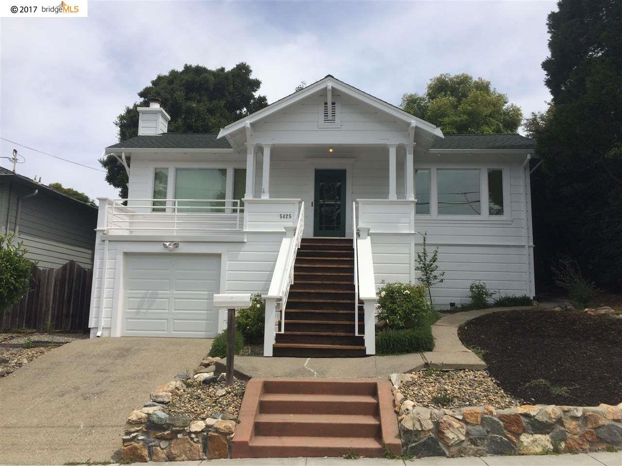 一戸建て のために 賃貸 アット 5425 Zara Avenue El Cerrito, カリフォルニア 94530 アメリカ合衆国