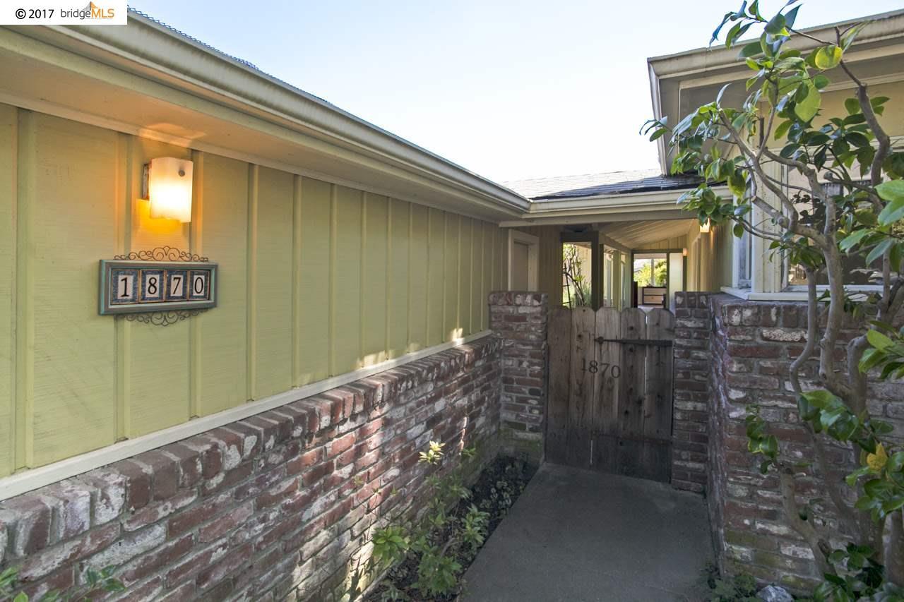 1870 San Ramon Ave, BERKELEY, CA 94707