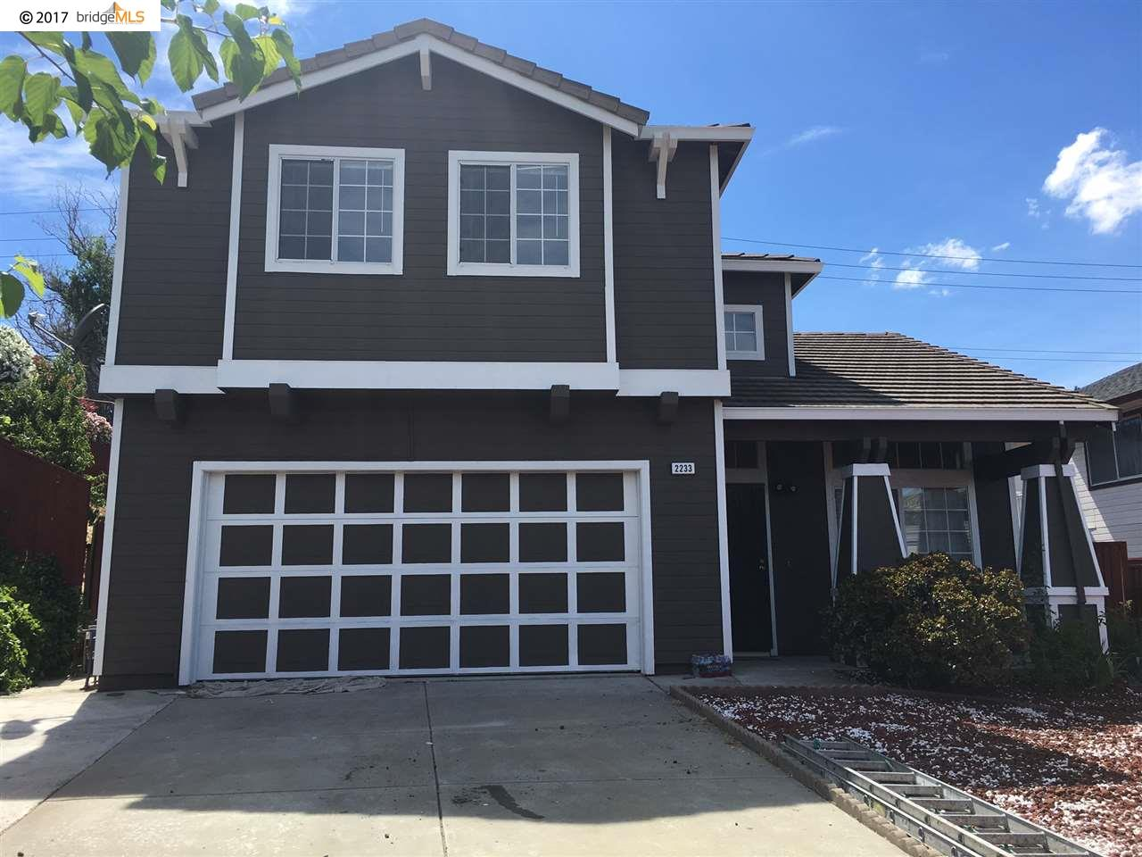 Single Family Home for Sale at 2233 Willow Avenue Bay Point, California 94565 United States