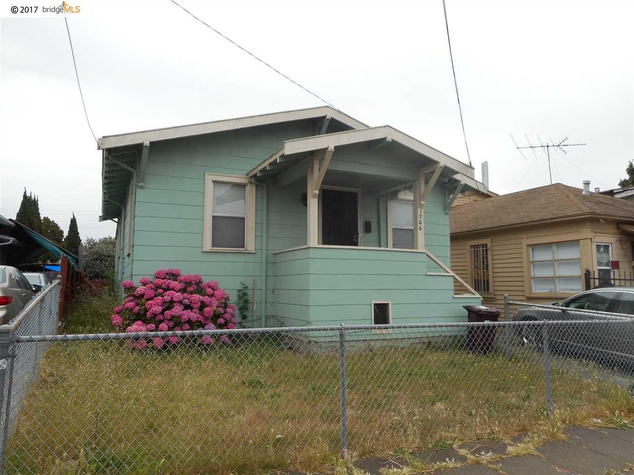 1706 69Th Ave, OAKLAND, CA 94621