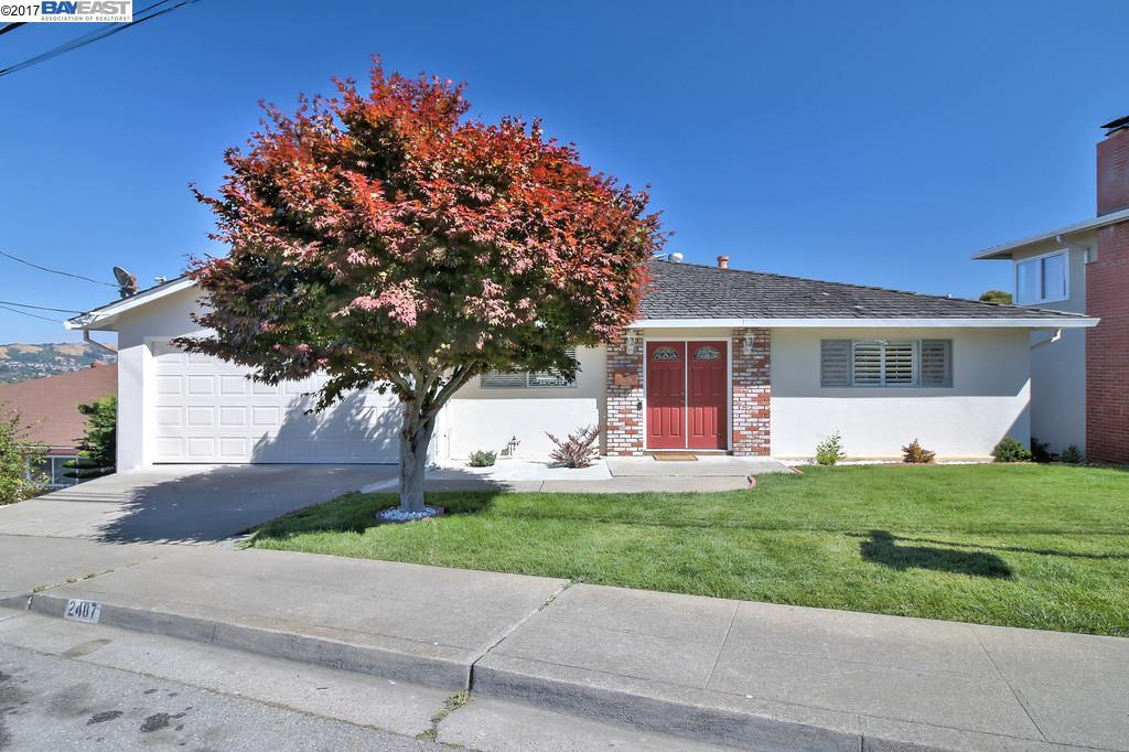 Single Family Home for Sale at 2487 Yaffe Drive San Leandro, California 94578 United States