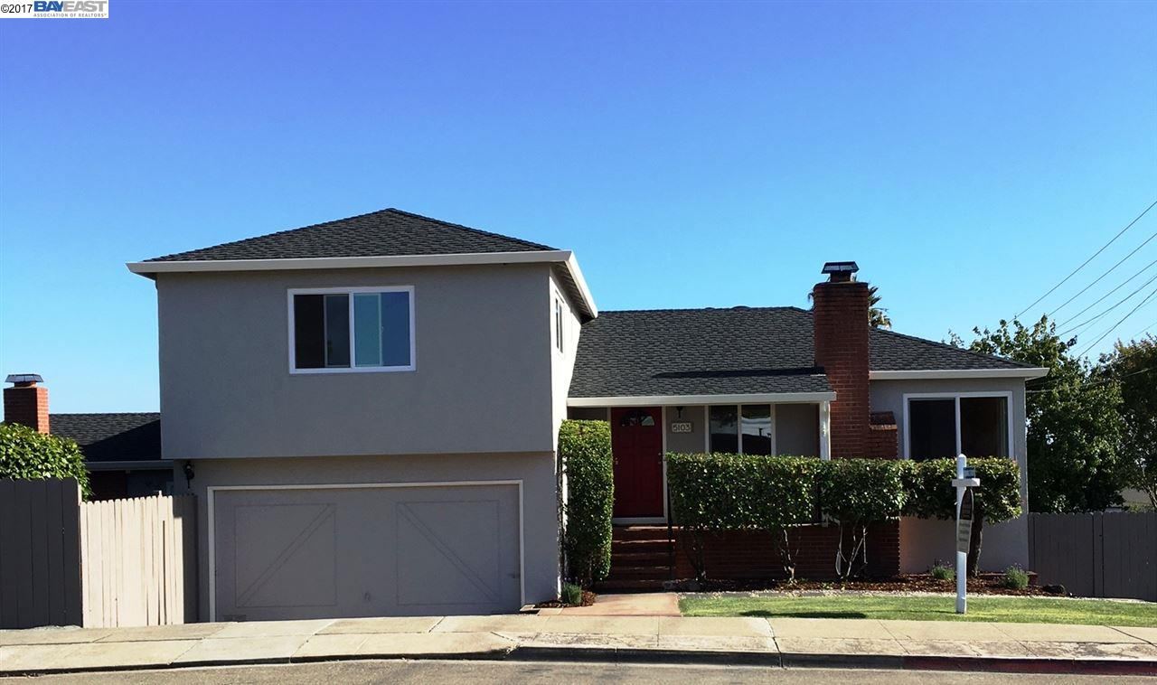 Single Family Home for Sale at 5103 Vannoy Avenue Castro Valley, California 94546 United States