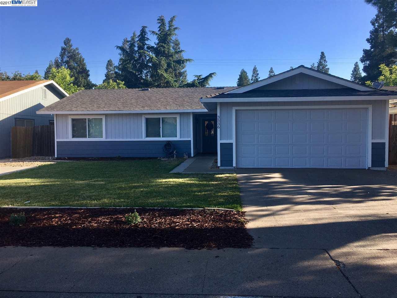 Einfamilienhaus für Verkauf beim 3536 Granby Drive Rancho Cordova, Kalifornien 95827 Vereinigte Staaten