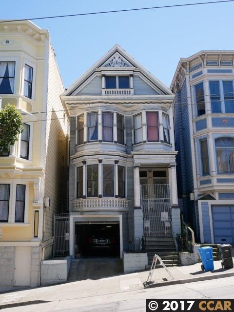 Частный односемейный дом для того Продажа на 915-917 San Francisco, Калифорния 94117 Соединенные Штаты