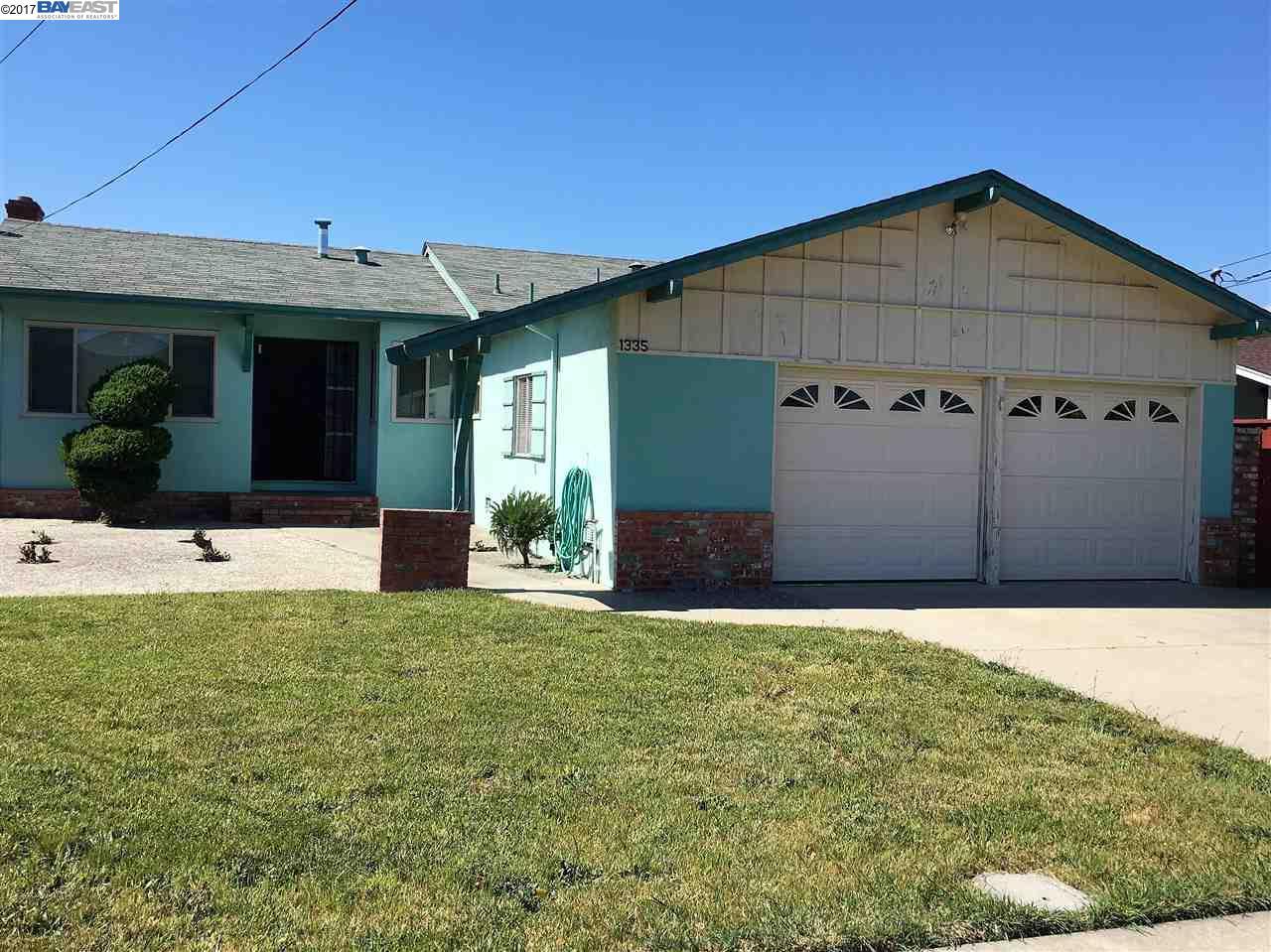 1335 Breckenridge St, SAN LEANDRO, CA 94579