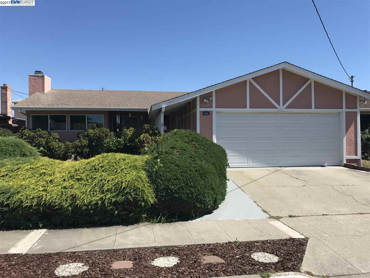 Single Family Home for Sale at 522 Lagunitas Lane Hayward, California 94544 United States