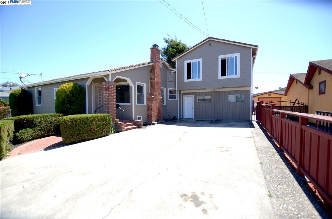 二世帯住宅 のために 売買 アット 2870 20Th Street San Pablo, カリフォルニア 94806 アメリカ合衆国