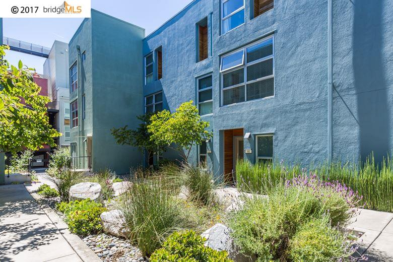 Casa unifamiliar adosada (Townhouse) por un Venta en 44 Glashaus Loop Emeryville, California 94608 Estados Unidos