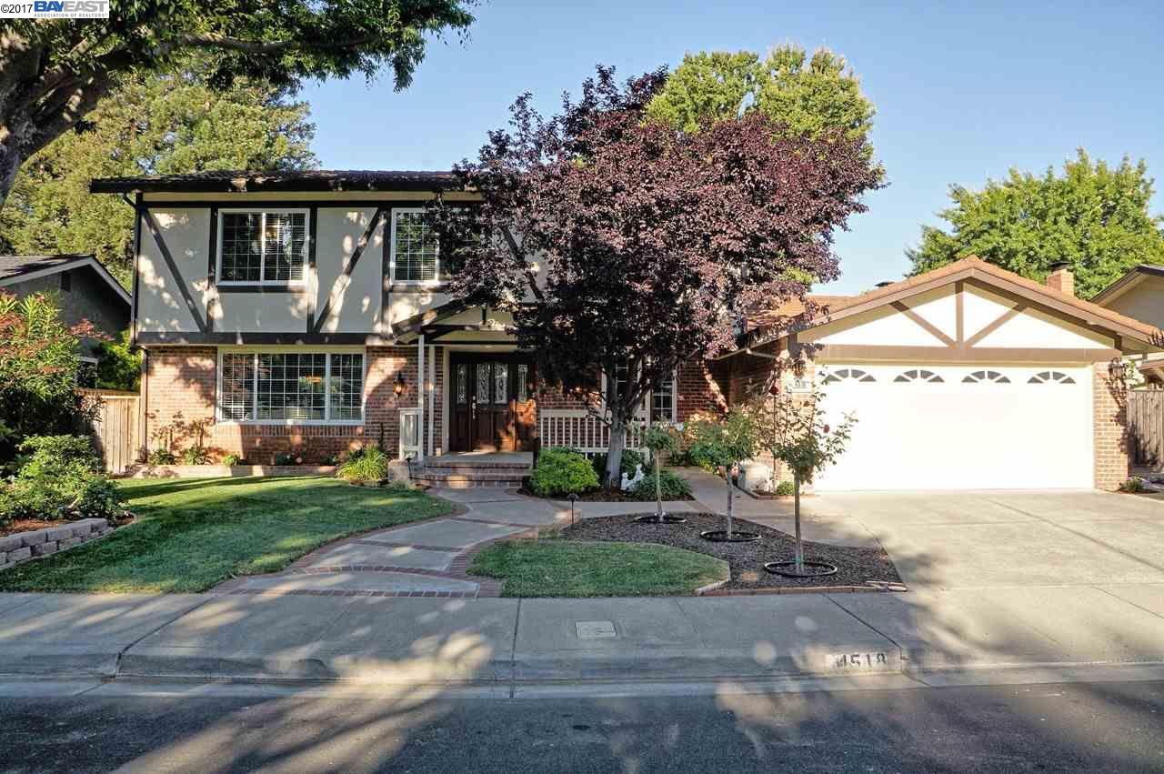 Single Family Home for Sale at 4518 Gatetree Circle Pleasanton, California 94566 United States