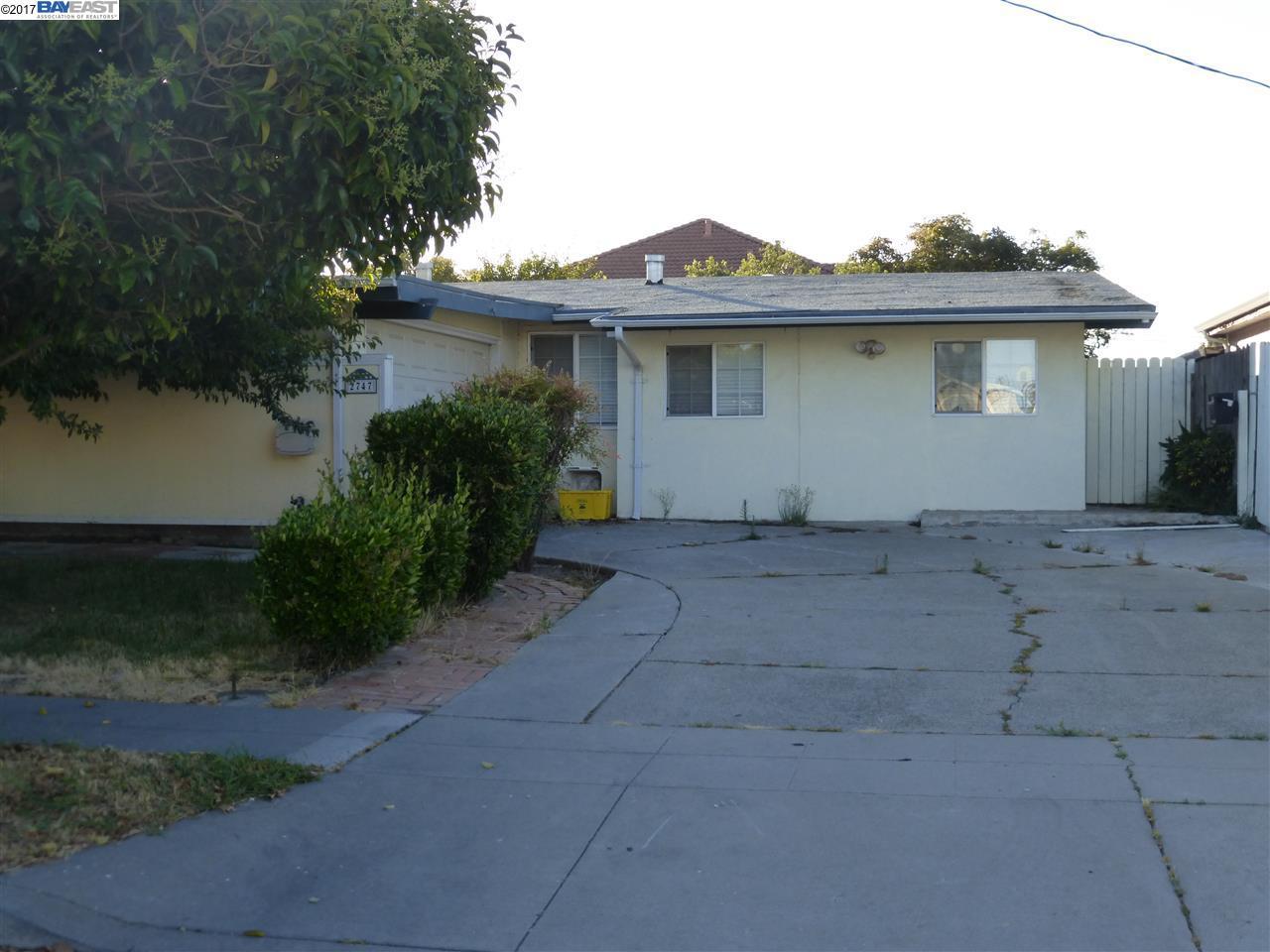 2747 Leeward St, HAYWARD, CA 94545