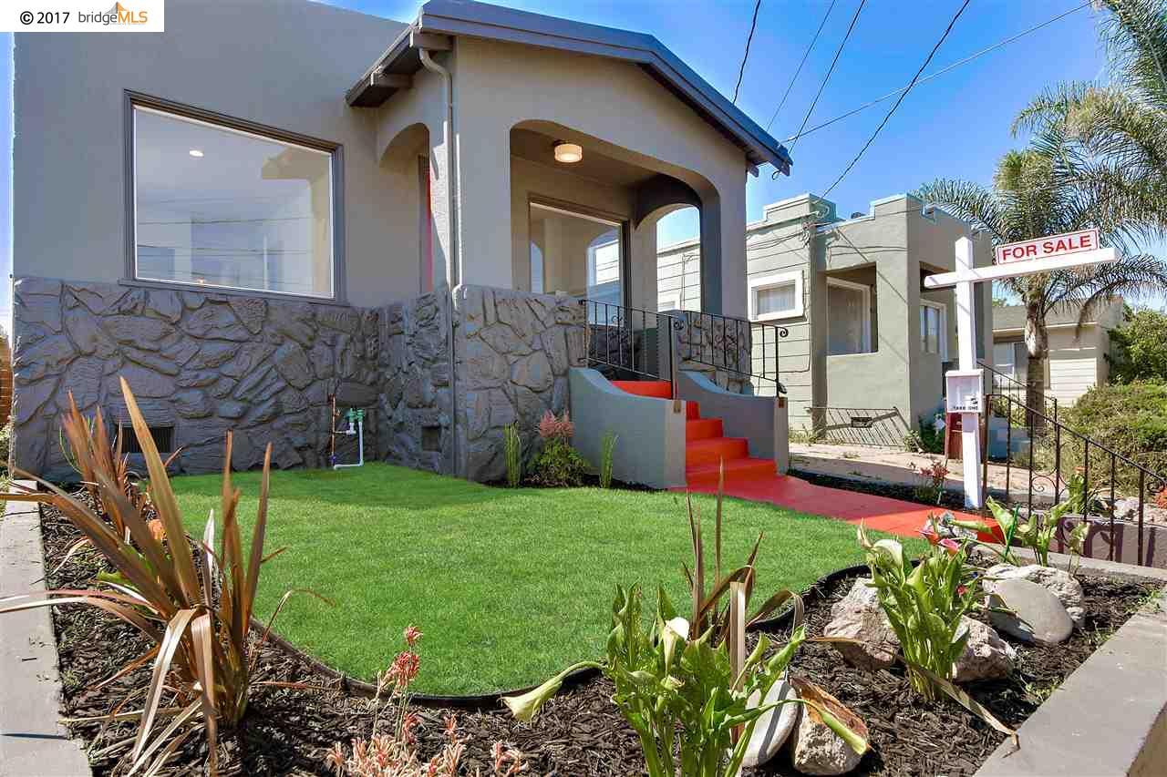 Частный односемейный дом для того Продажа на 2426 64Th Avenue 2426 64Th Avenue Oakland, Калифорния 94605 Соединенные Штаты