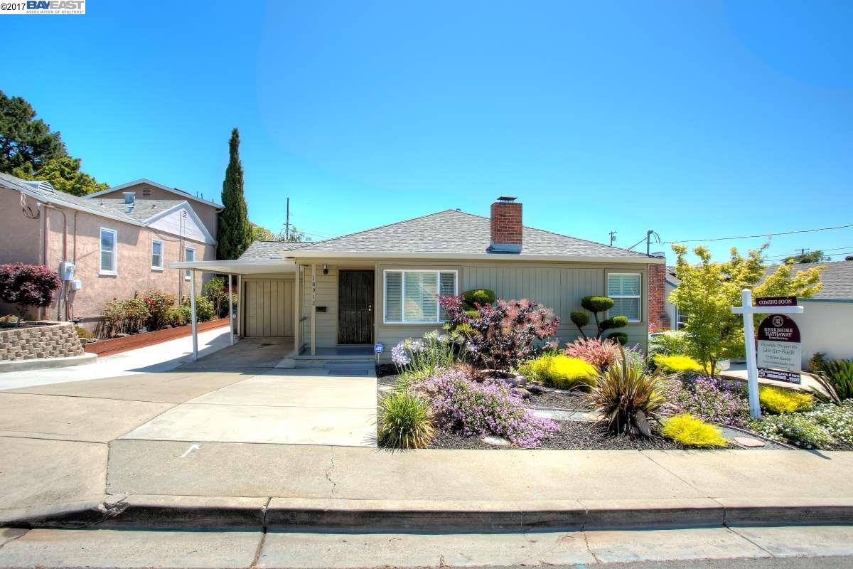Single Family Home for Sale at 18912 Santa Maria Avenue Castro Valley, California 94546 United States