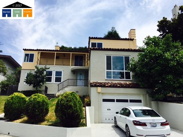واحد منزل الأسرة للـ Sale في 605 Hillgirt Circle Oakland, California 94610 United States