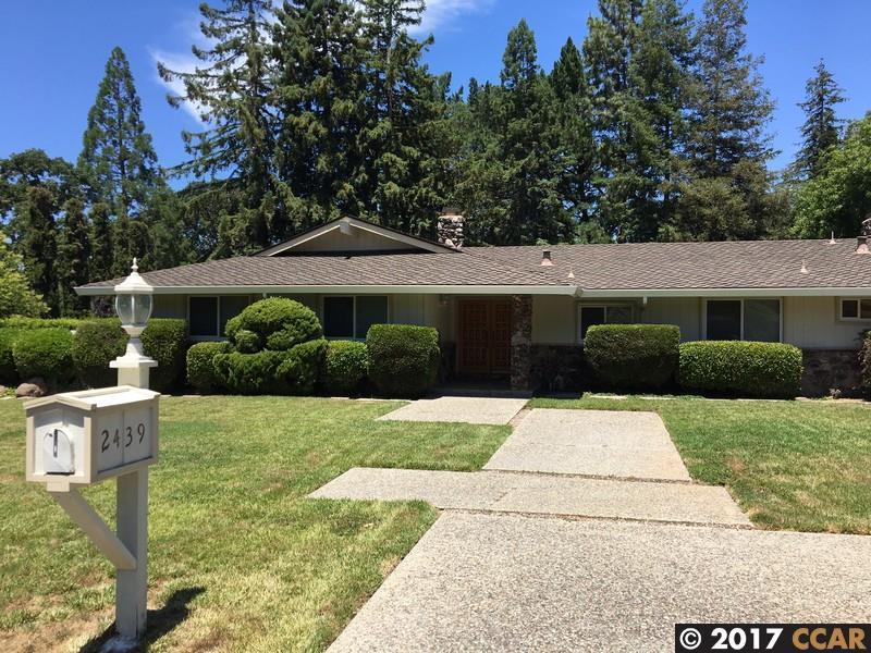 Частный односемейный дом для того Аренда на 2439 Royal Oaks Drive Alamo, Калифорния 94507 Соединенные Штаты