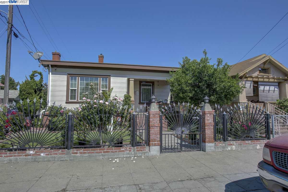 Single Family Home for Sale at 1603 41st Avenue Oakland, California 94601 United States