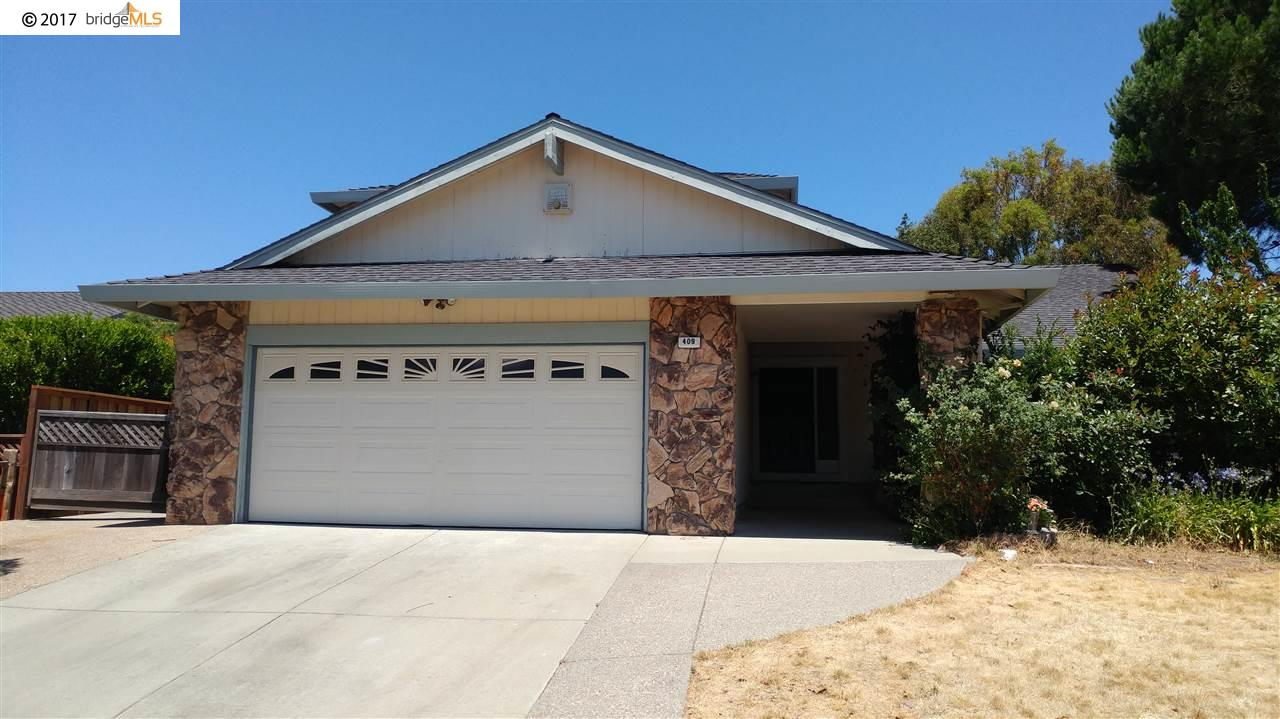 Single Family Home for Sale at 409 Duperu Drive Crockett, California 94525 United States