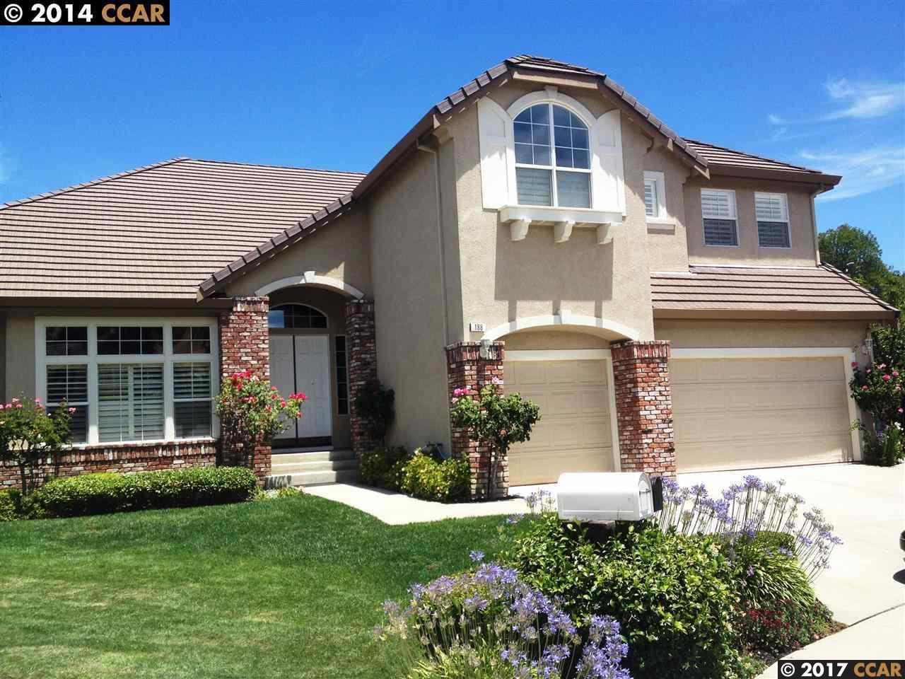 واحد منزل الأسرة للـ Rent في 188 Lasata Court Danville, California 94526 United States