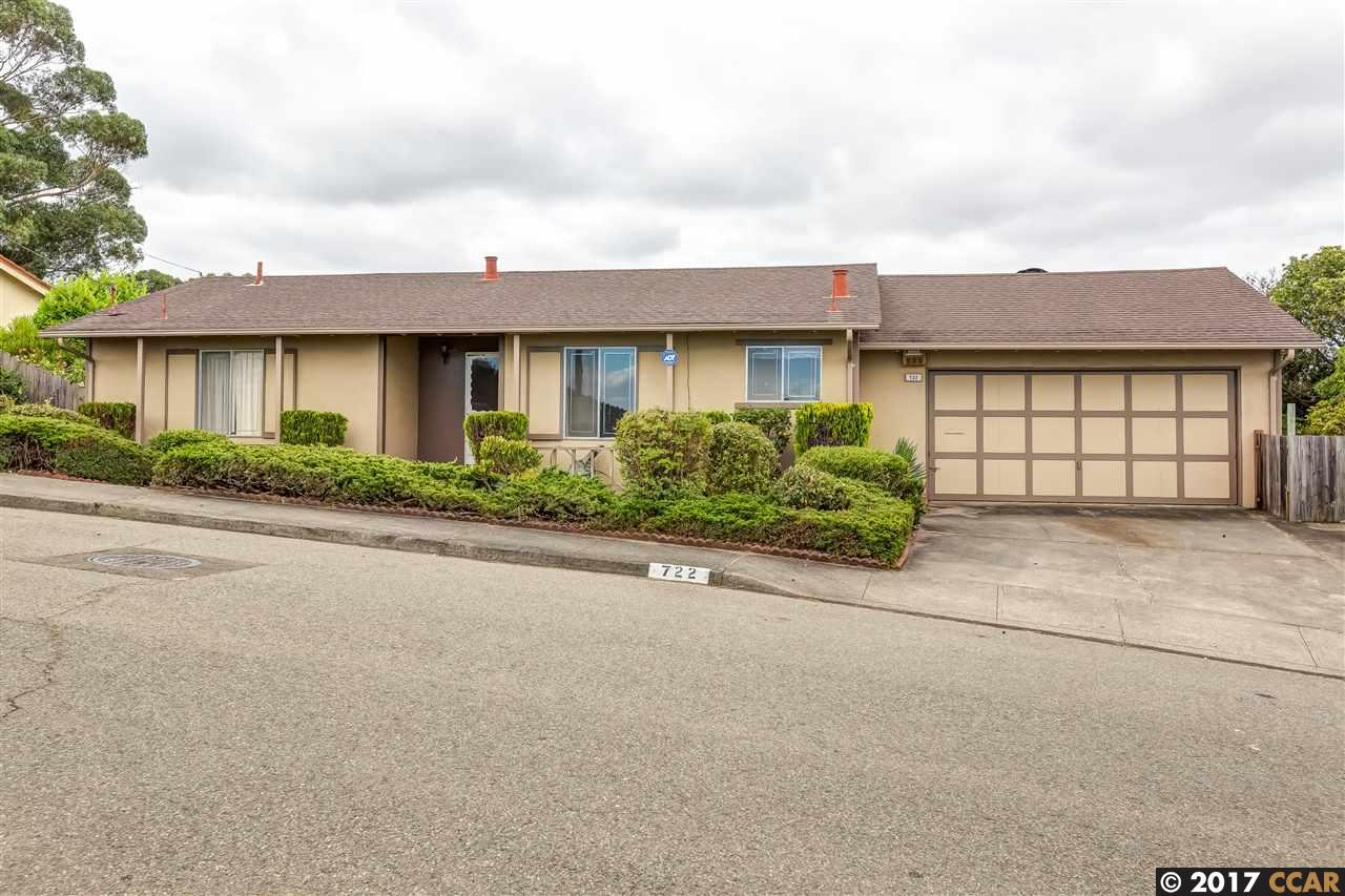 Additional photo for property listing at 722 Crestview Drive  Pinole, カリフォルニア 94564 アメリカ合衆国