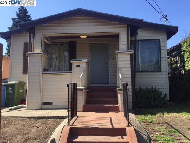1211 Ward, BERKELEY, CA 94702