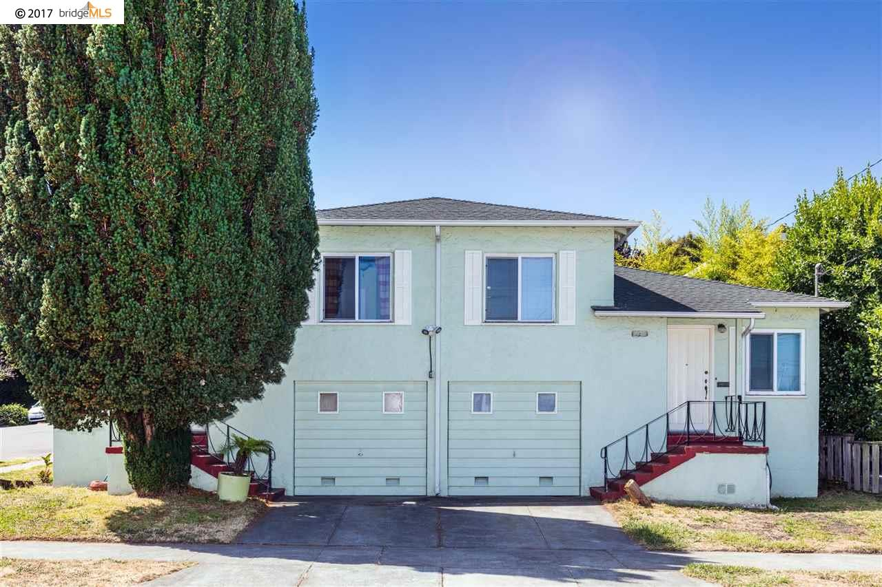 Casa Multifamiliar por un Venta en 5532 Bayview Avenue Richmond, California 94804 Estados Unidos