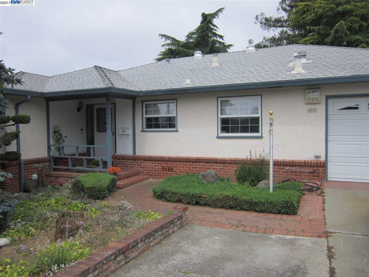 Single Family Home for Sale at 3416 Middleton Avenue Castro Valley, California 94546 United States