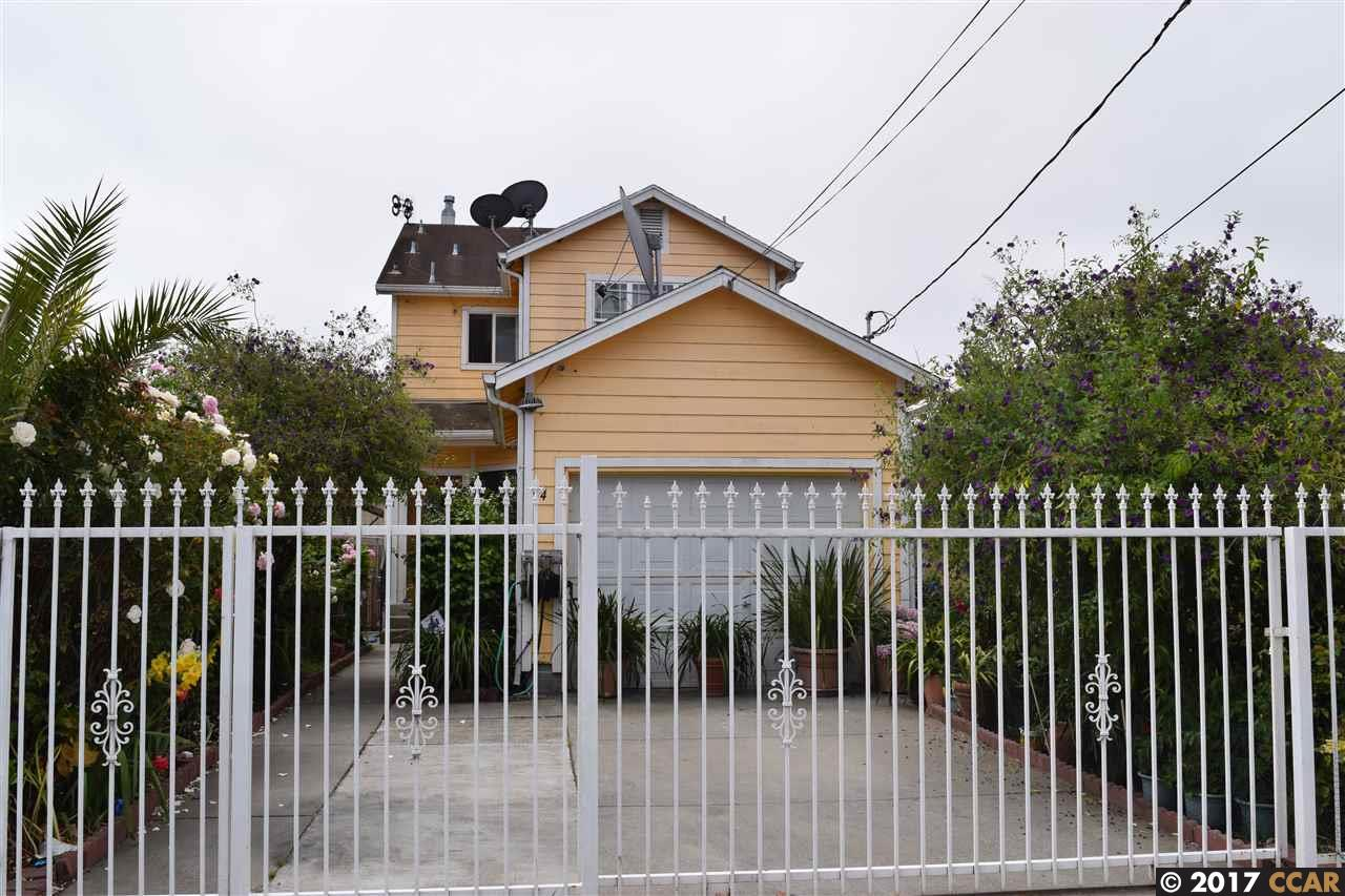 واحد منزل الأسرة للـ Sale في 44 Duboce Avenue Richmond, California 94801 United States