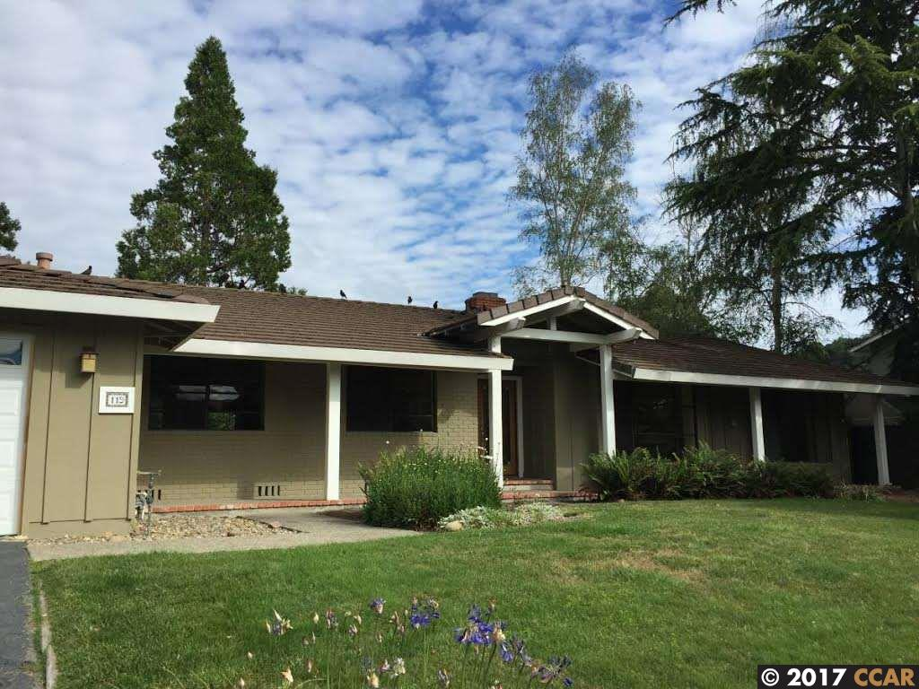 واحد منزل الأسرة للـ Rent في 119 Whitethorne Drive Moraga, California 94556 United States