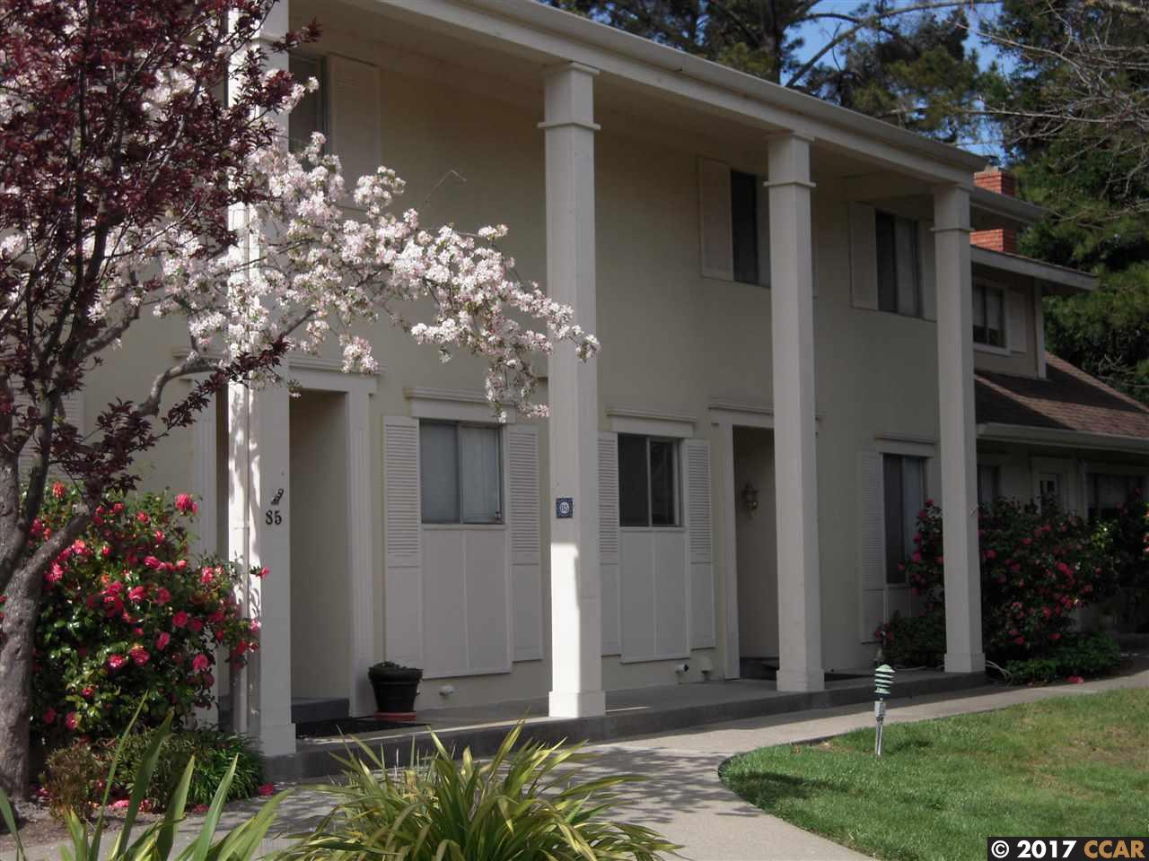 Townhouse for Rent at 86 Miramonte Drive Moraga, California 94556 United States