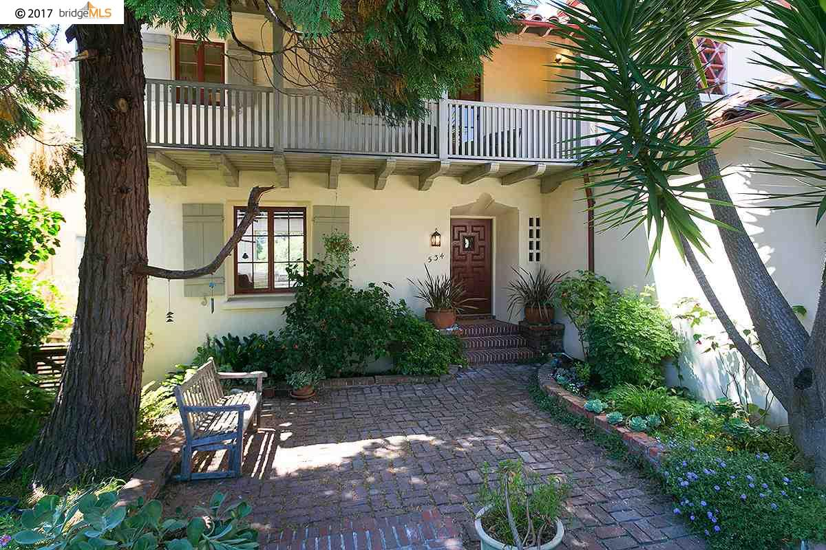 واحد منزل الأسرة للـ Rent في 534 ARLINGTON AVENUE Berkeley, California 94707 United States