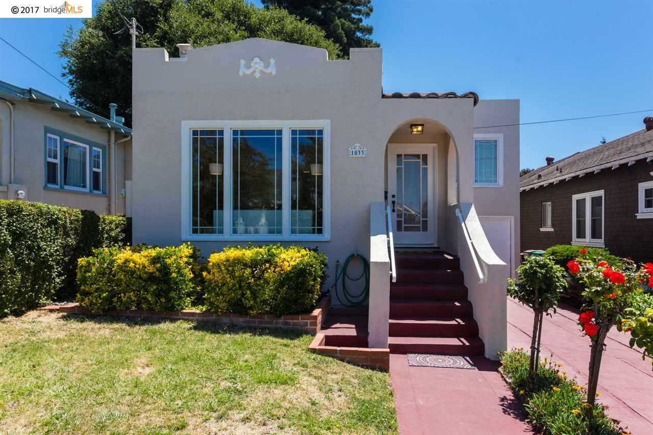 Einfamilienhaus für Verkauf beim 1033 Curtis Albany, Kalifornien 94706 Vereinigte Staaten