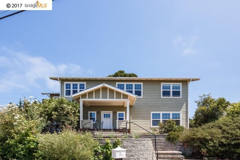 Single Family Home for Sale at 852 Galvin Drive El Cerrito, California 94530 United States