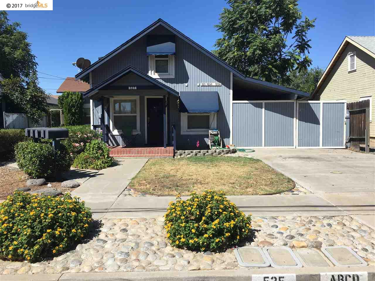 Single Family Home for Sale at 527 1ST Street Brentwood, California 94513 United States