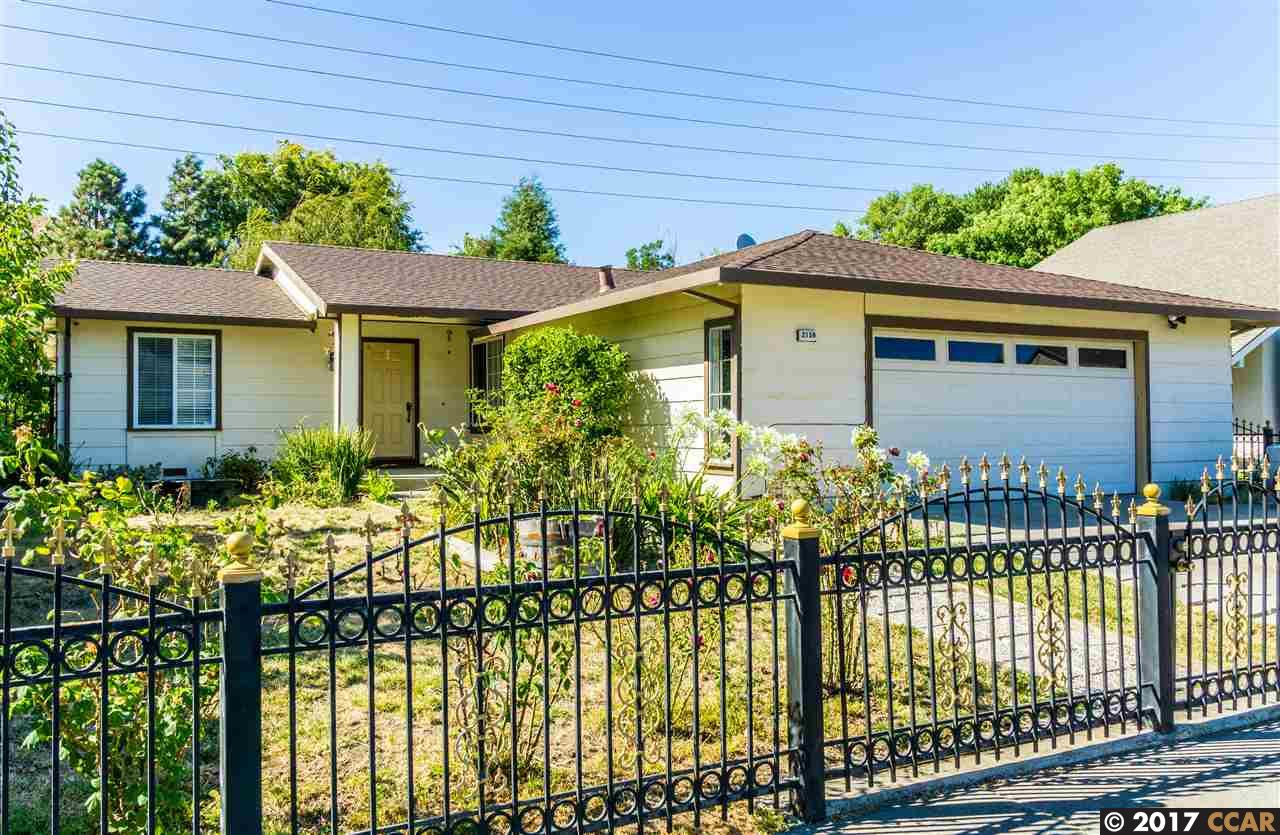 Single Family Home for Sale at 2159 Sarah Court Pinole, California 94564 United States