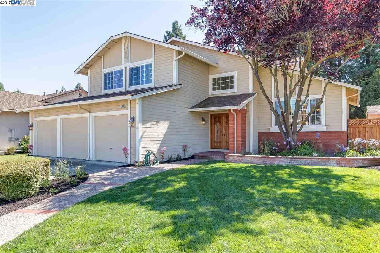 Single Family Home for Sale at 3216 Clifford Circle Pleasanton, California 94588 United States