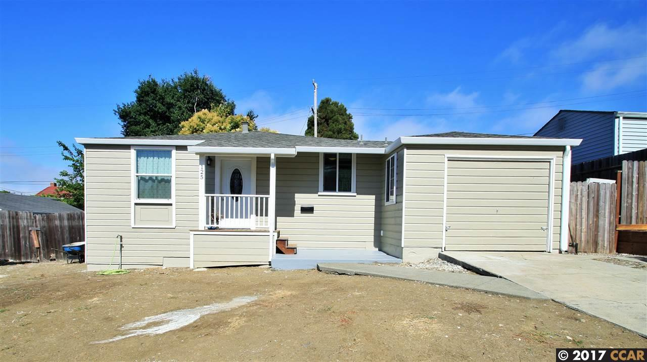 Casa Unifamiliar por un Venta en 125 Fairview Avenue Vallejo, California 94589 Estados Unidos