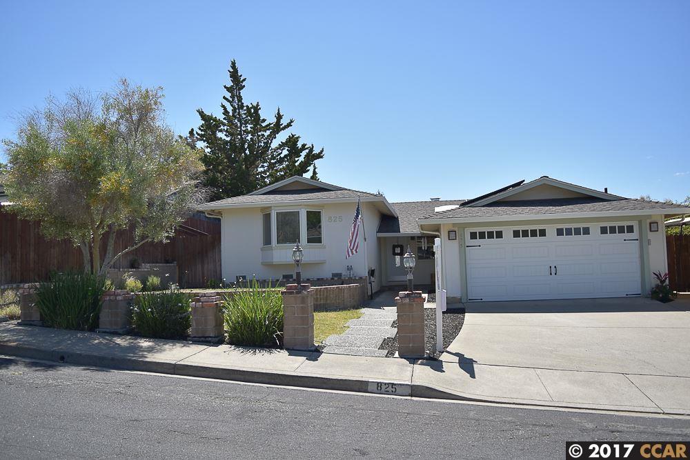 825 Marie Ave, MARTINEZ, CA 94553