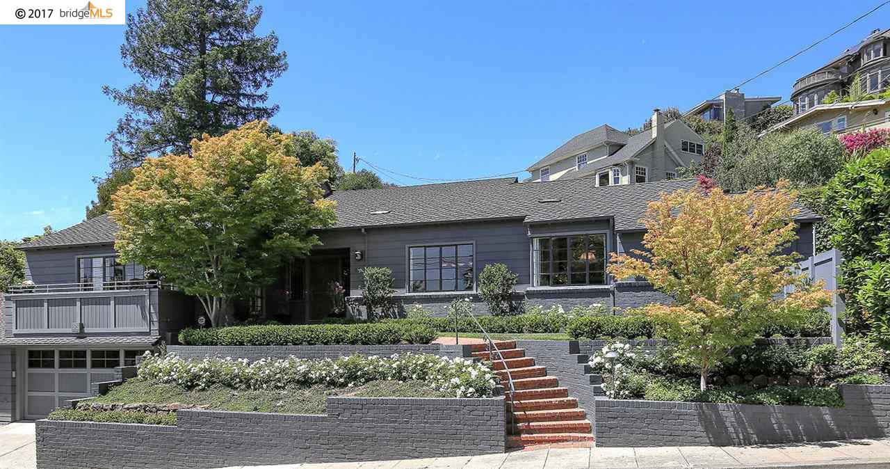 Single Family Home for Sale at 55 Sharon Avenue Piedmont, California 94611 United States